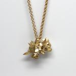 Large+Bowser+Pendant+Necklace
