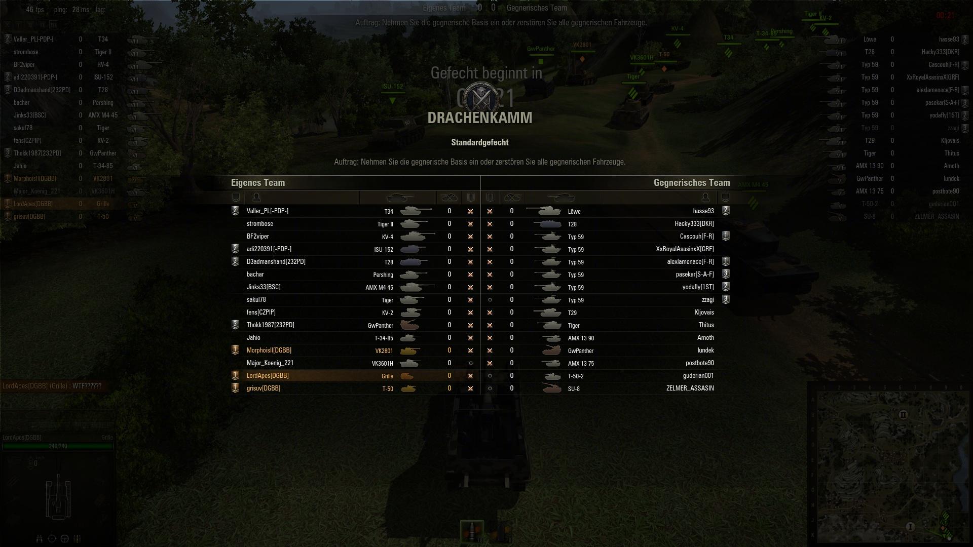 World of Tanks – Matchmaking…