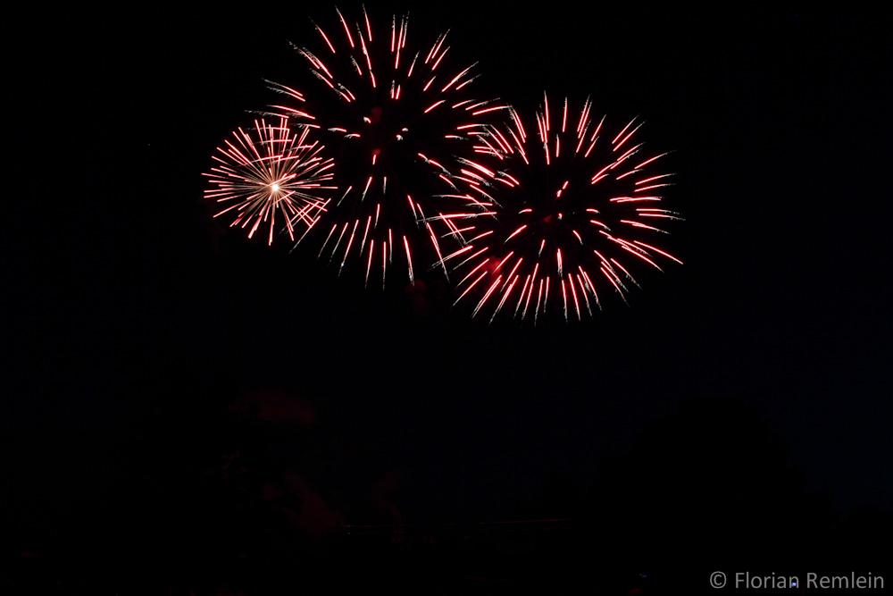 Feuerwerk in Steinfeld