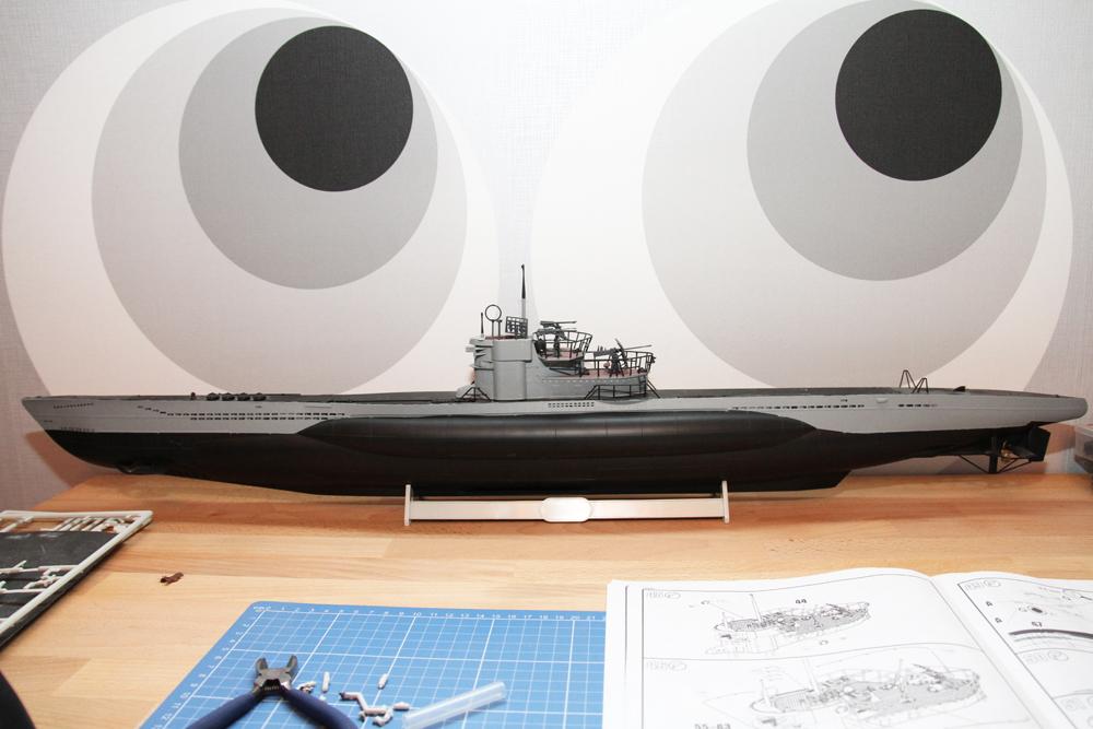 U-Boot VII / C 1:72 – Aktueller Stand