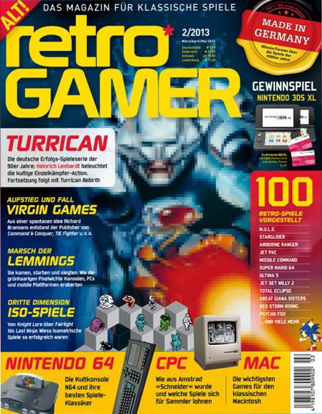 Retro Gamer 02/2013 erschienen