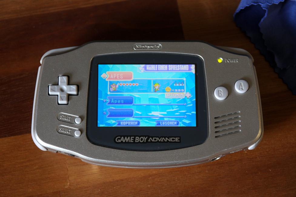 Gameboy Advance Display Mod