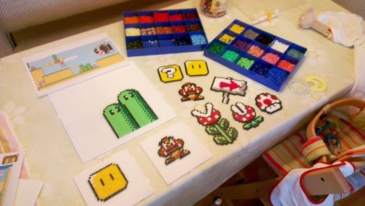 Mario Level fürs Kinderzimmer