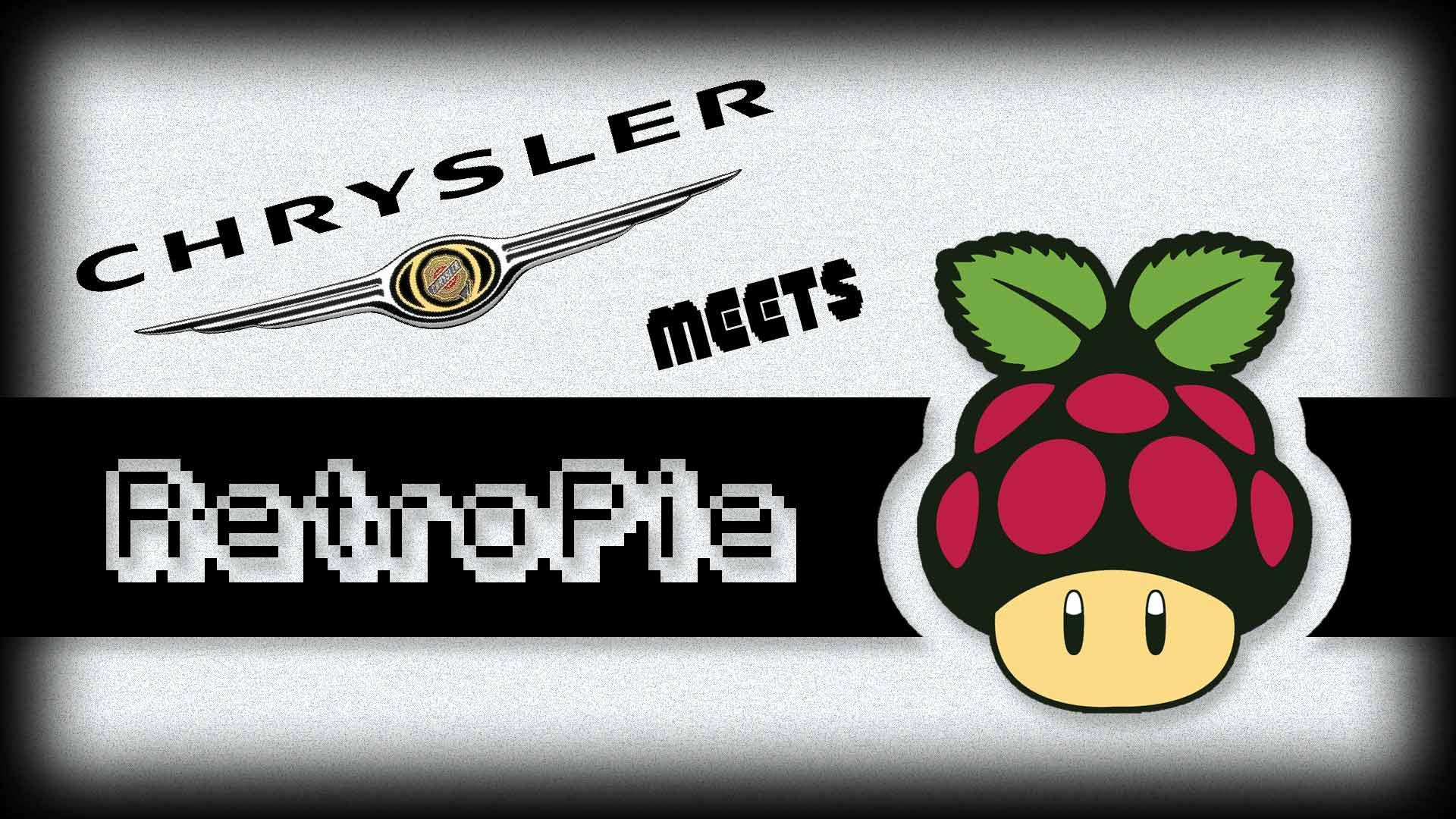 Raspberry Pi in den 300c