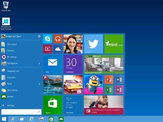 Windows 10 – Technical Preview