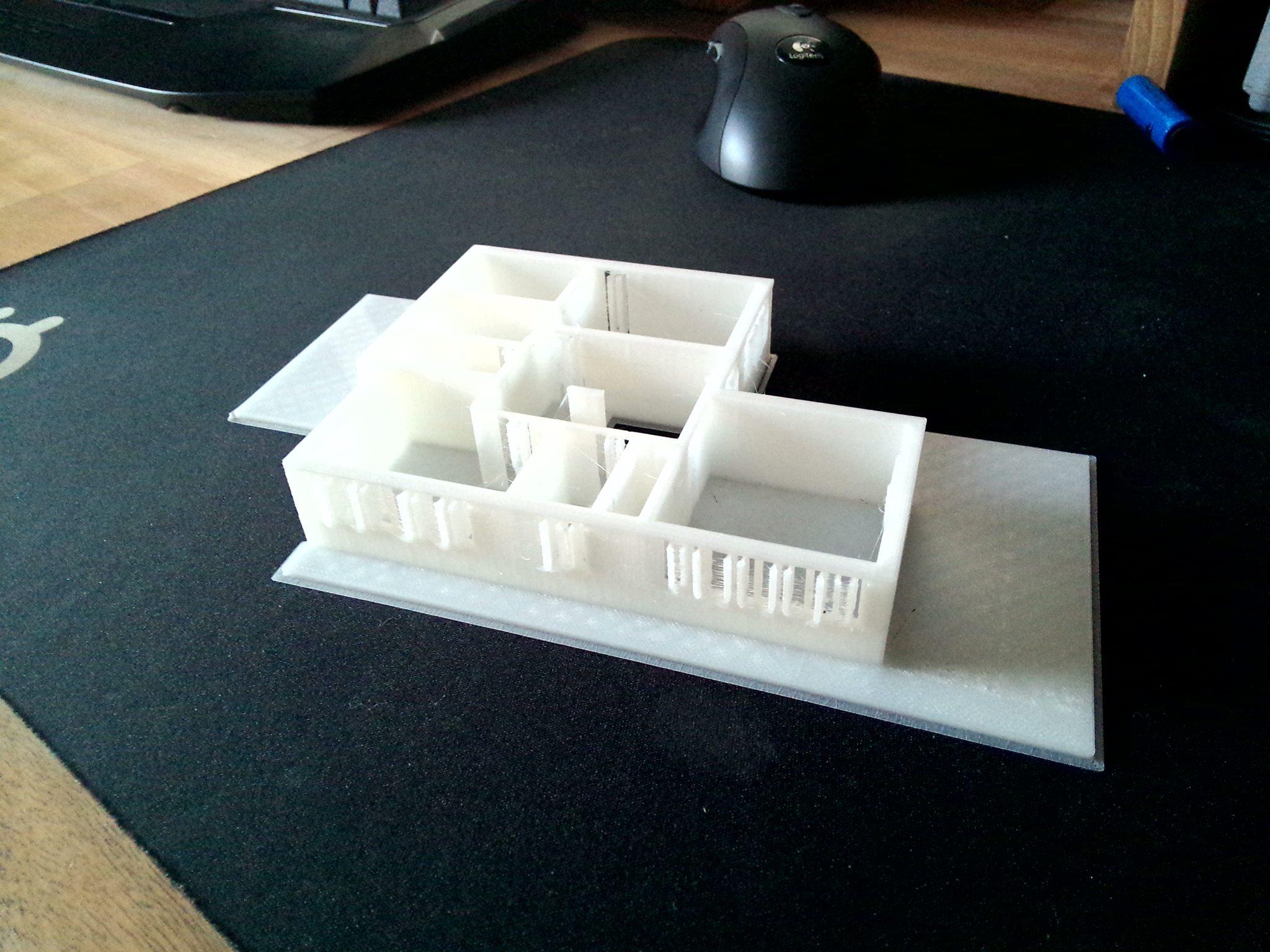 Haus in 3D