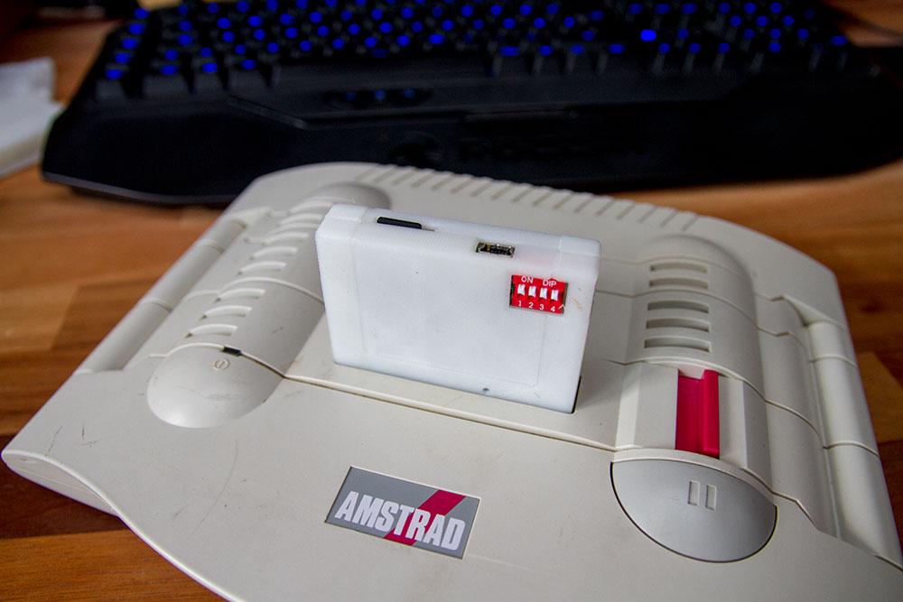 Gehäuse für Amstrad GX4000 Platine