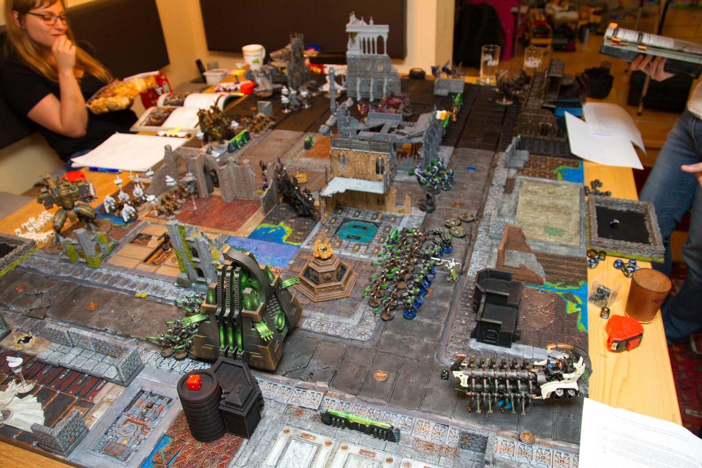 Warhammer 40k. 8. Edition – Erstes Spiel