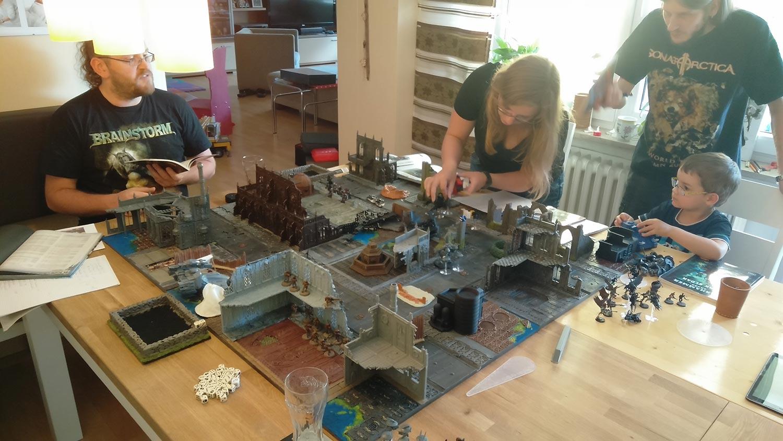 """Warhammer 40K – Erstes """"Spiel"""""""