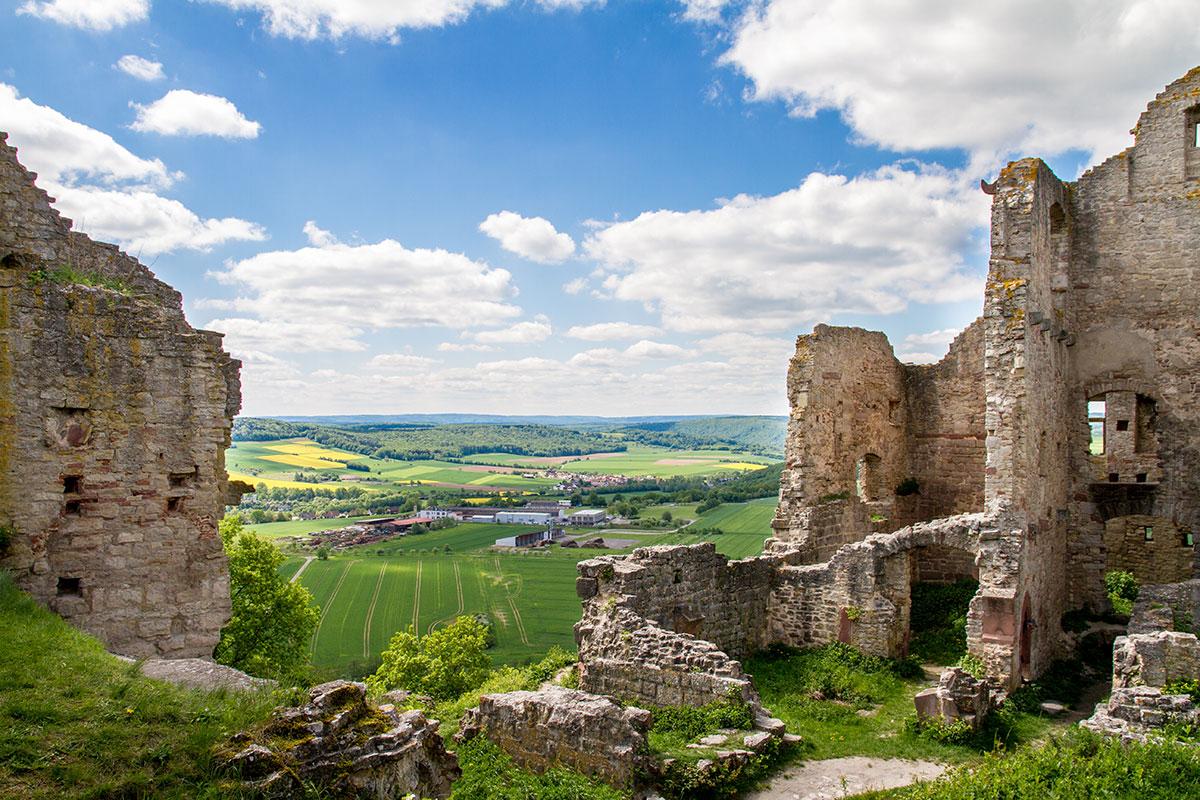 Wandern – Auf zur Burg Homburg bei Gössenheim