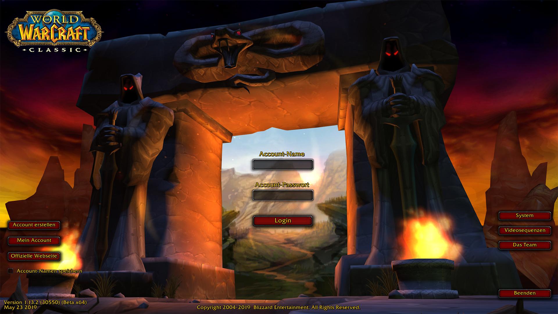 World of Warcraft Classic – Stresstest