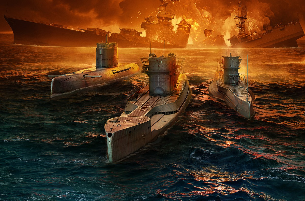 World of Warships<br/>U-Boote