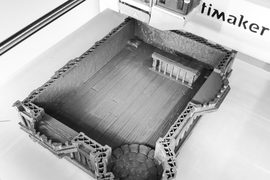 3D Druck – Governor's Mansion [UPDATE]
