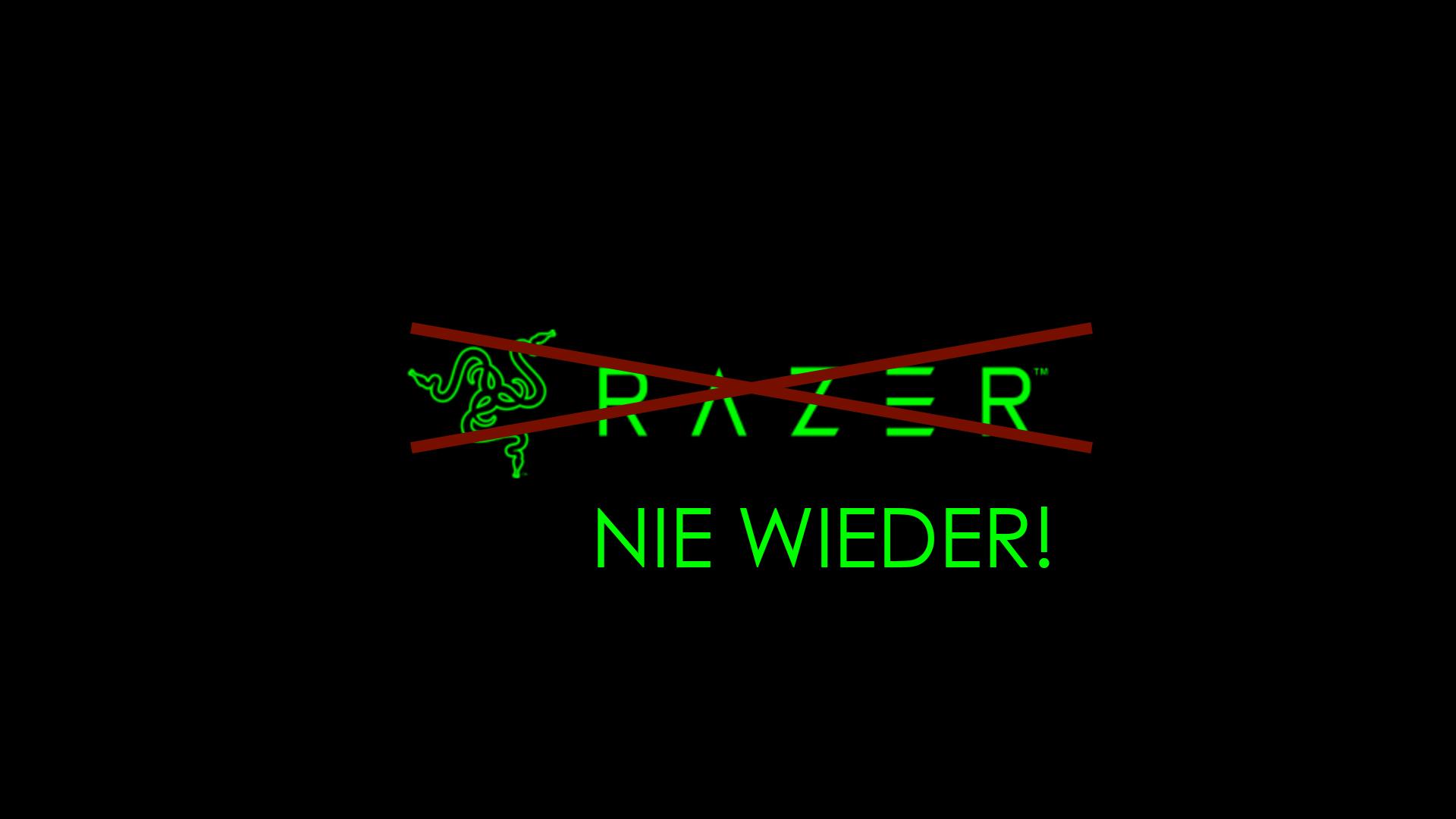 Schlechtester Support 2020 – Razer