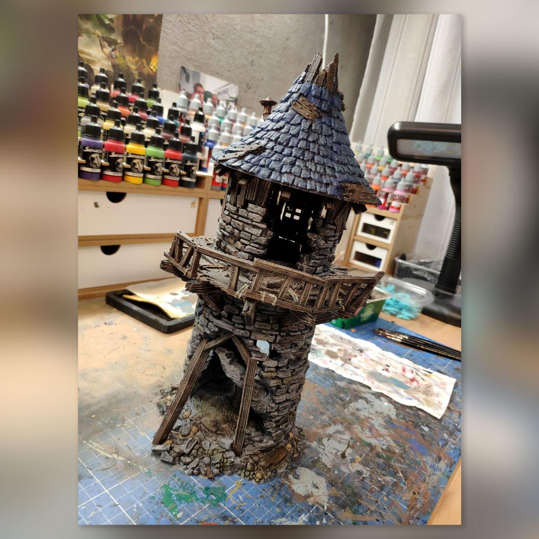Neuer Turm für's Hobby