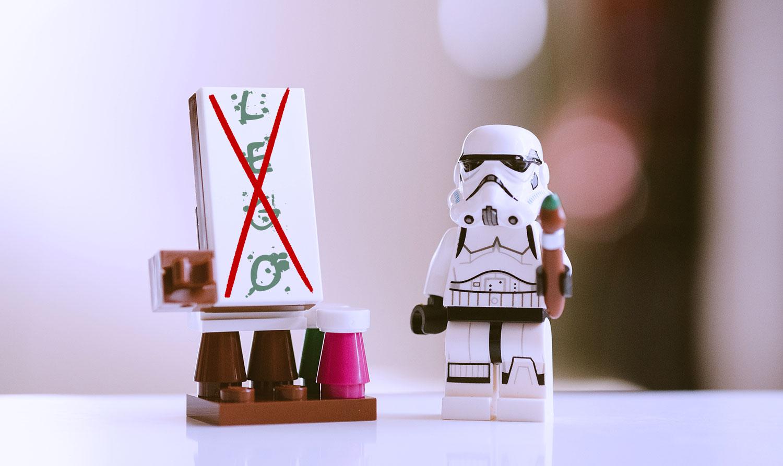 Kein Lego mehr (vorerst)